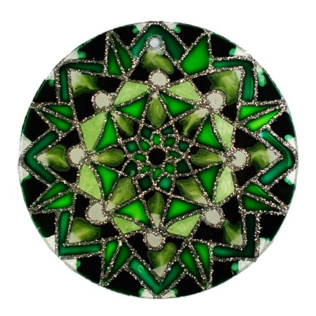 Mandala Green Star