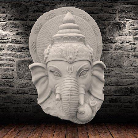 Cabeça de Ganesha Marmorite