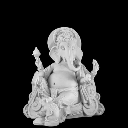 Escultura Ganesha Power Marmorite