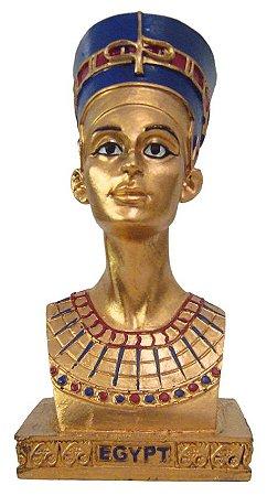 Escultura Busto Nefertiti