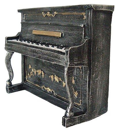 Escultura Piano Vintage