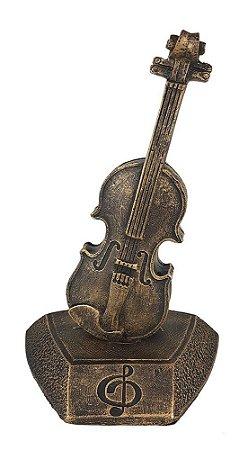 Escultura Violino