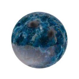 Esfera de De Pedra Natural Apatita Azul 6 Cm