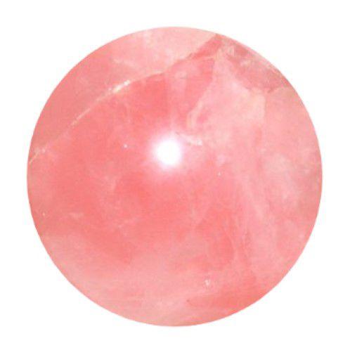Esfera de Quartzo Rosa | 6 Cm