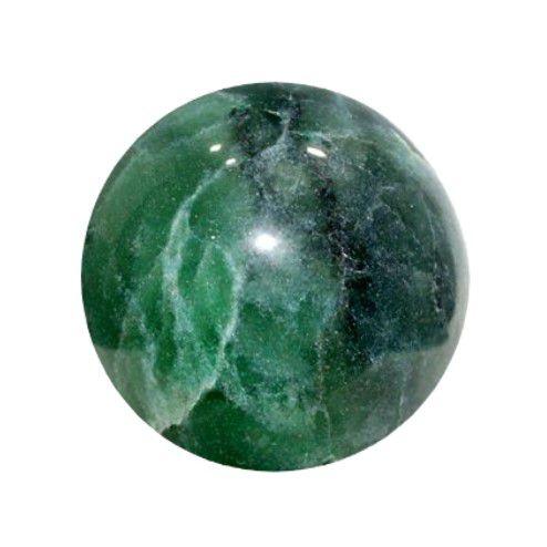 Esfera de Quartzo Verde 6 Cm