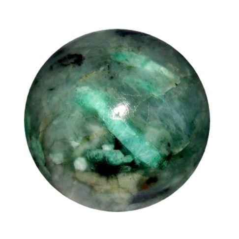 Esfera de Pedra Natural Esmeralda Verde | 7 Cm - 500 G