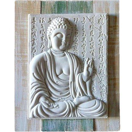 Quadro Buda Abhaya Mudra 30x24 cm