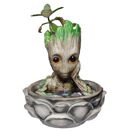 Fonte de Água Decorativa Baby Groot 220V