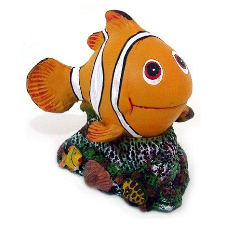 Enfeite de Aquário Peixe Palhaço Nemo
