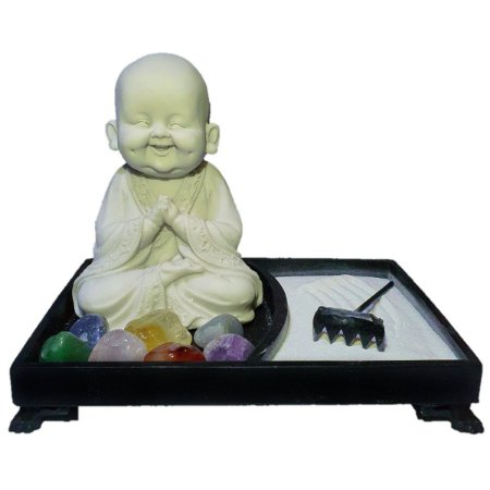 Jardim Zen Buda Nino Anjali Mudra Marmorite