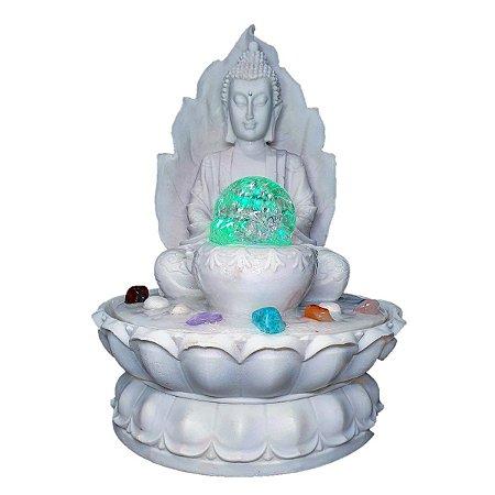 Fonte Buda Sidarta Marmorite 30 Cm