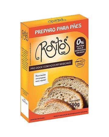 Preparo para Pão Doce sem glúten ROSITOS 500g