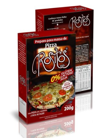 Preparo para Massa de Pizza sem glúten ROSITOS 200g