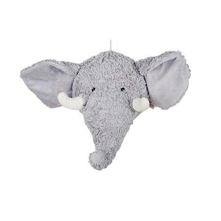 Cabeça Decorativa de Elefante