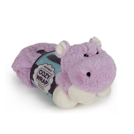 Hipopótamo de Pescoço em Pelúcia Térmico