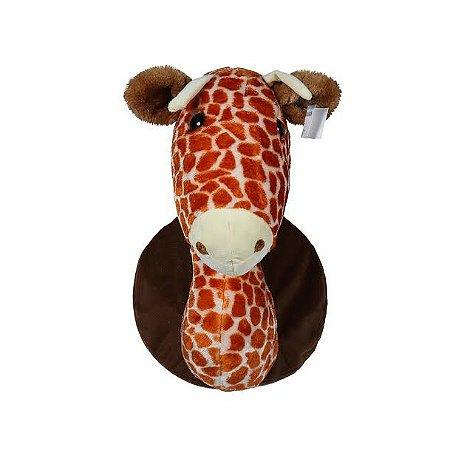Cabeça Decorativa Girafa