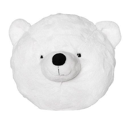 Cabeça Decorativa Urso Polar