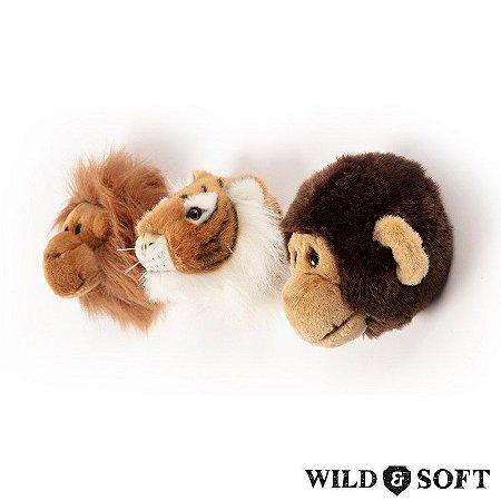 Jungle Box com 3 Mini Cabeças - Wild & Soft