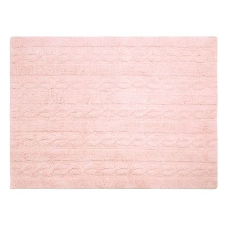 Tapete Trança Rosa Soft - Lorena Canals