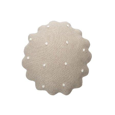 Almofada Galletita Dune White 25 x 25 cm
