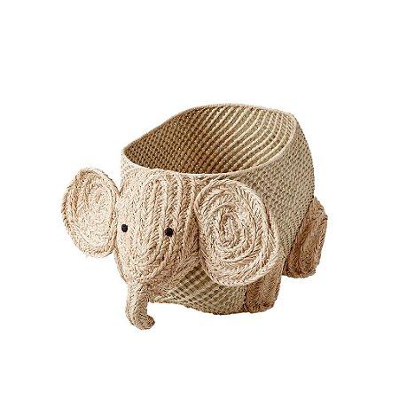 Cesto Ráfia Elefante- Rice Dinamarca