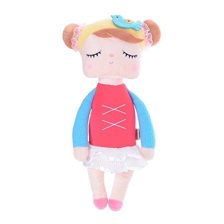 Boneca Angela Bailarina Vermelha 33cm - Metoo