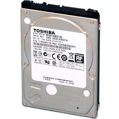 HD Toshiba Note SATA 1TB 8MB 5400RPM MQ01ABD Series 3Gb/s