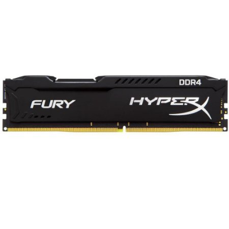 Memória Kingston HyperX FURY 16GB 2400MHZ DDR4 CL15 Preto - HX424C15FB/16