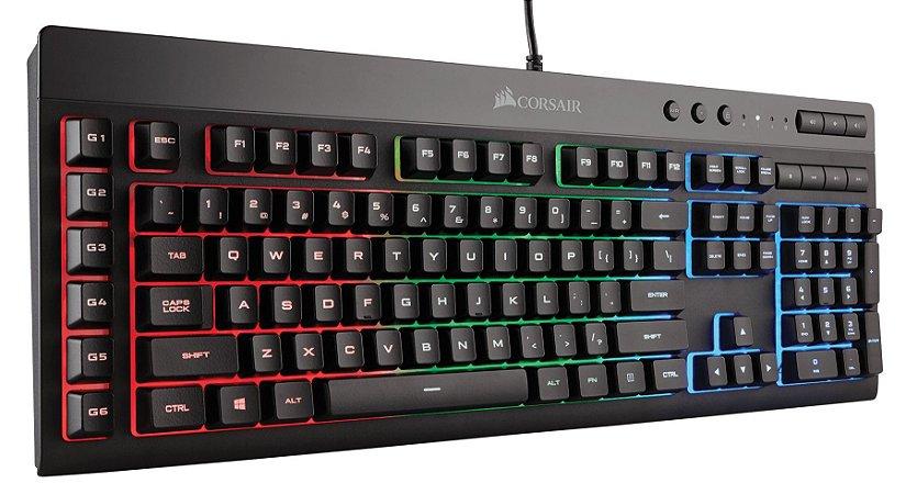 Teclado Corsair Gamer K55 RGB - CH-9206015-BR