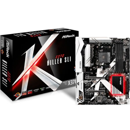 Placa-Mãe ASRock AMD AM4 ATX X370 Killer SLI DDR4