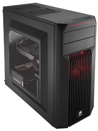 Gabinete Corsair Carbide Spec-02 Red CC-9011051-WW