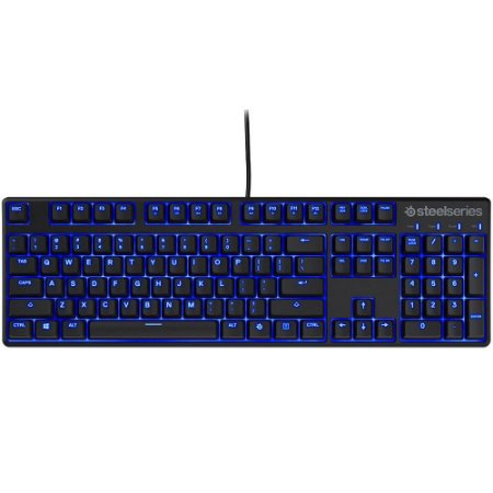 Teclado Gamer Mecânico Steelseries Apex M500 LED Azul Cherry MX Red - 64490