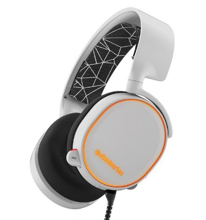 Headset Gamer Steelseries Arctis 5 White 7.1 RGB - 61444