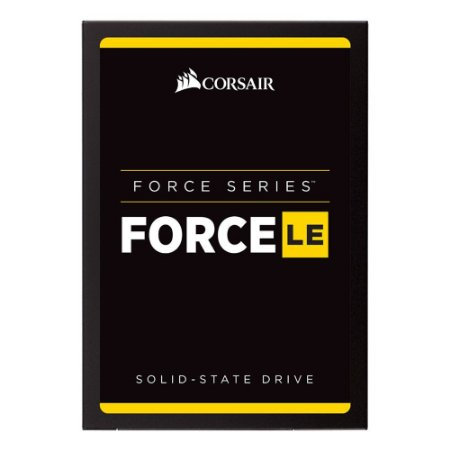 SSD Corsair Force LE 2.5´ 960GB SATA III 6Gb/s Leituras: 560MB/s e Gravações: 530MB/s - CSSD-F960GBLEB