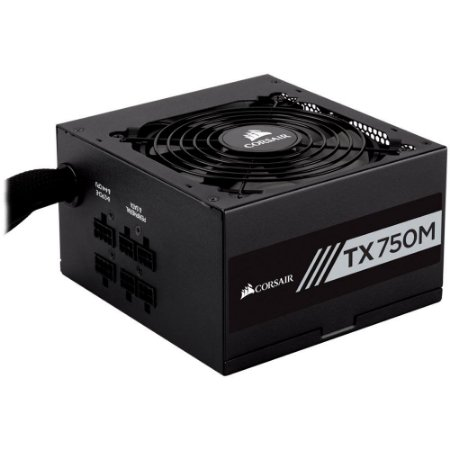 Fonte Corsair 750W 80 Plus Gold Semi Modular TX750M CP-9020131
