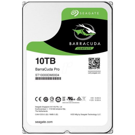 HD Seagate SATA 3,5´ BarraCuda PRO 10TB 7200RPM 256MB Cache SATA 6.0Gb/s - ST10000DM0004