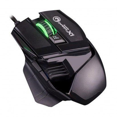 Mouse Gamer Marvo Óptico USB Scorpion Emperor X1 M501 Preto