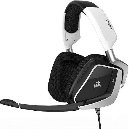 Headset Gamer Corsair RGB USB 7.1 White CA-9011155-NA