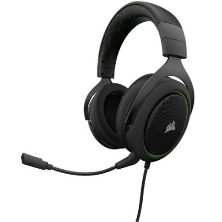 Headset Gamer Corsair HS50 Green - CA-9011171-NA