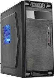 Gabinete Newdrive Q3S USB/Audio/200W 2*Sata Black PN # Q3S ( 1 BAIA / SEM VENTILADOR )