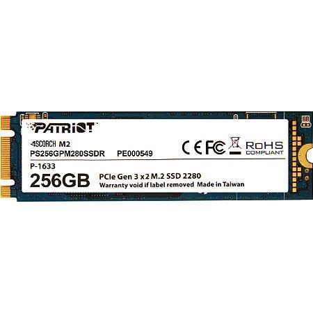 SSD Patriot Scorch 256GB M.2 PCI-E