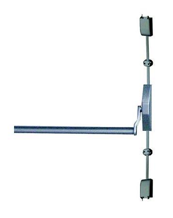 Barra Antipânico Vertical Porta de 01 Folha Sem Fechadura Push Soprano