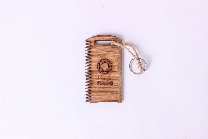 Raspador/Chaveiro De Bamboo - Virada Mágica