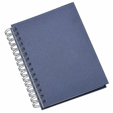 LG281 Agenda Wire-O Percalux Azul Royal