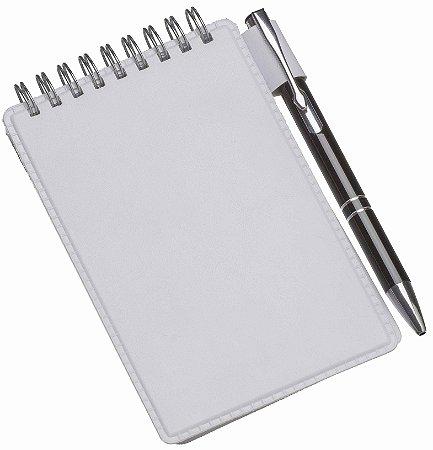 LG236 Caderneta de Anotações Cinza