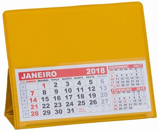 LG40 Calendário de Mesa 117x165mm Amarelo