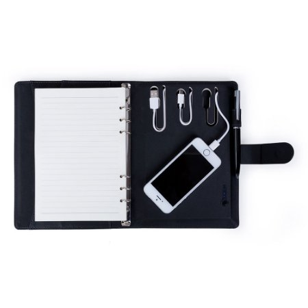 Caderno de Anotações Personalizado com powerbank