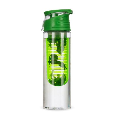 Squeeze garrafa com  infusor personalziado.