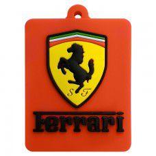 Chaveiro Emborrachado Ferrari