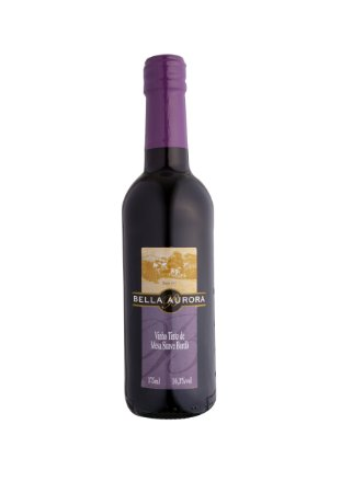 VINHO TINTO SUAVE BORDÔ 375ML - BELLA AURORA